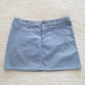 Aeropostale vintage Y2K periwinkle corduroy skirt